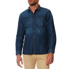 Jackson worker - Camicia in jeans - blu jeans