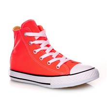 CHUCK TAYLOR ALL STAR HI HYPER ORANGE - Halfhoge sneakers - oranje