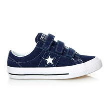 ONE STAR 3V OX NAVY/WHITE/BLACK - Zapatos - azul marino