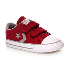 STAR PLAYER 2V OX RHUBARB/DOLPHIN/WHITE - Halfhoge sneakers - roze