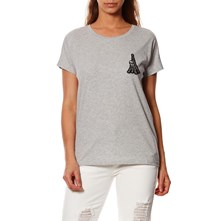 Karl In Paris Tee - Camiseta - gris