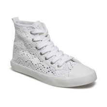 Hamptyn - Halfhoge sneakers - wit