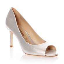 Leren pumps - wit