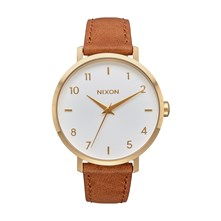 Arrow - Montre en cuir - marron