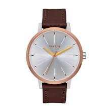 Kensington - Montre en cuir - or