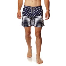 Short de bain - marineblauw