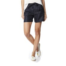 Short di lino - blu scuro