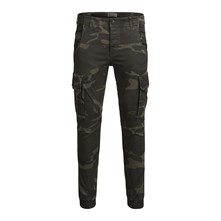 Paul - Pantalon cargo - kaki