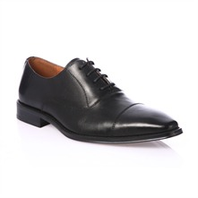Black Leather Loafer 1