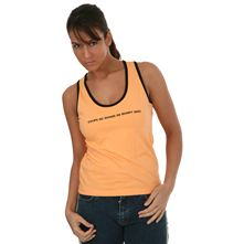 Dbardeur orange pour Femme