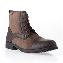 Brown Zebra Smart Casual Ankle Boots