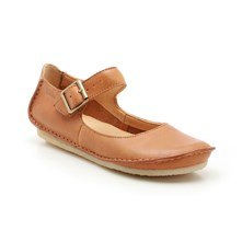 Ballerines Faraway Fell en cuir marron clair