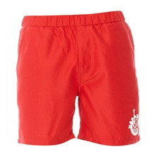 Short de bain rouge