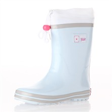 Pale Blue Make Your Sound Wellington Boots