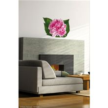 Sticker Pivoine