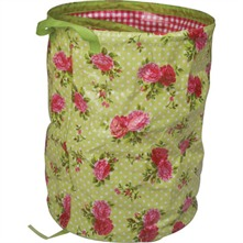 English Rose Print Pop Up Bag