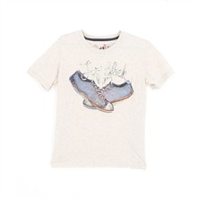 T-shirt Shoes écru
