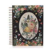 Carnet de notes  sprirales Evening Floral
