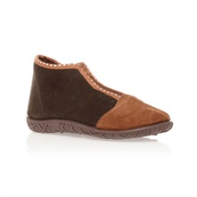Chaussons marron