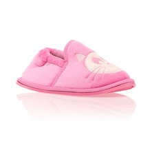 Chaussons chat rose