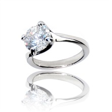 Le Solitaire - Ring - zilver