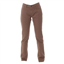 Pantalon slim noisette