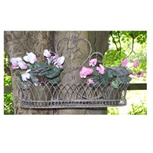 Rusty Shelf Planter 65cm