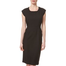 Black Rada Wool Shift Dress