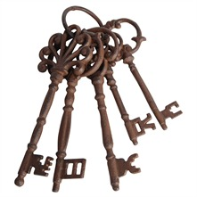 Cast Iron Large Keys