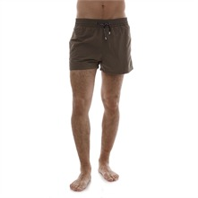 Short de bain kaki