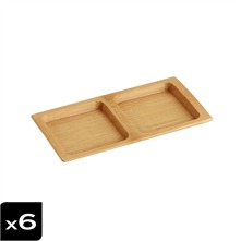Lot de 6 plats Yamato World Food - Asia
