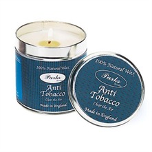 Anti Tobacco Scented Candle in a Tin