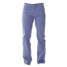 Pantalon 5 pockets bleu