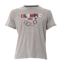 T-shirt Olympic gris chiné