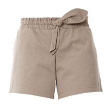 Short à noeud beige
