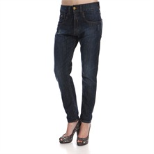 Blue Denim Speed Boyfriend Jeans 30
