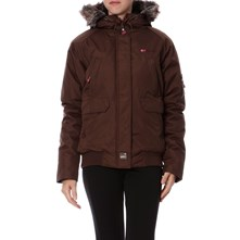 Blouson Chana marron