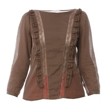 Blouse Listelle marron