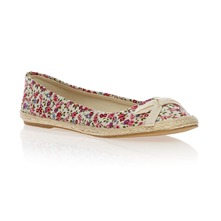 Ballerines liberty rouge
