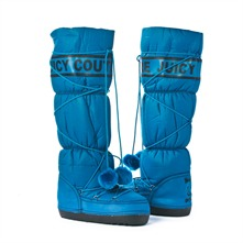 SS Blue Logo Snow Boots