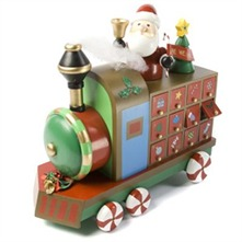 Multicolour Christmas Train Advent Calendar