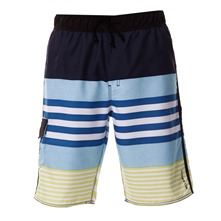 Boardshort Reverse bleu et jaune
