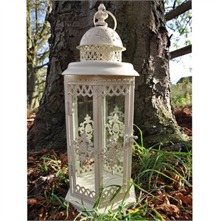 Cream Antique Lantern