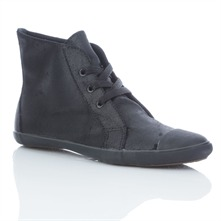 Women's Black Suede All Star Casual Boots