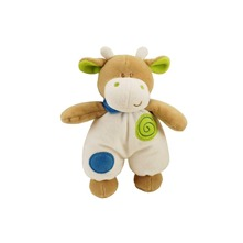 Peluche doudou Pistache la Vache