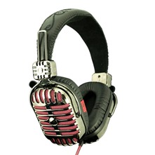 Casque audio Imego Retro Infinity Poison rouge