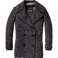 Manteau anthracite