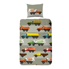 Parure de lit Trucks multicolore