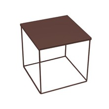 Table de chevet KUBE Marron