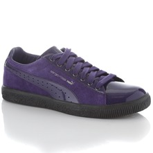 Purple SR Clyrde Leather Trainers